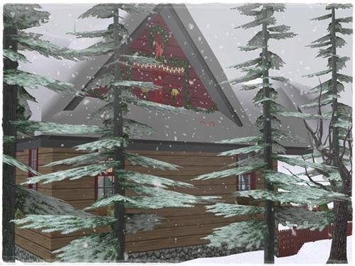 TS2 House:Winter Dream R3ogfxrz