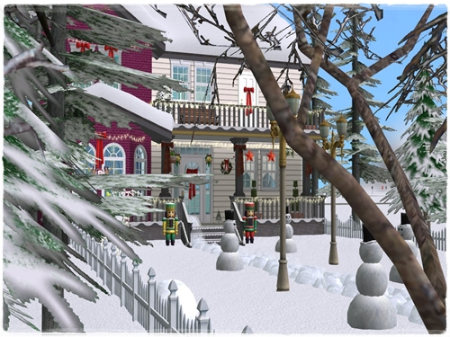 TS2 House:Christmas Starter House (No Cc) Zuyoi8mj