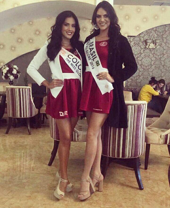 brasil para the miss globe 2016: leticia cappatto. I988v24d