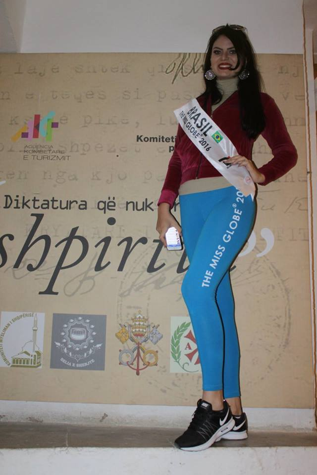 brasil para the miss globe 2016: leticia cappatto. Iys82g33