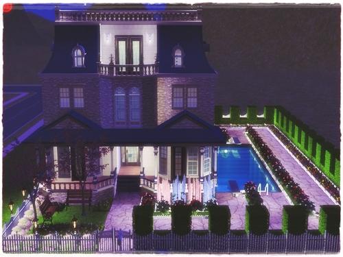 TS2:Little (Blue) Mansion Wrunmg82