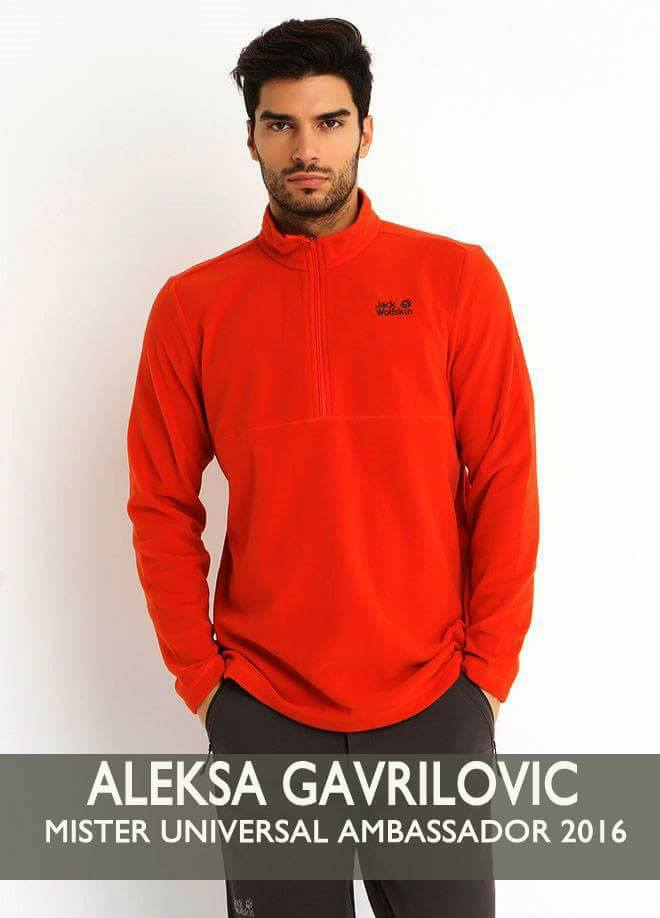 aleksa gavrilovic, mr universal ambassador 2016. 2apydmlw