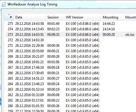 WinReducer Log Analyser Khjmqcsl