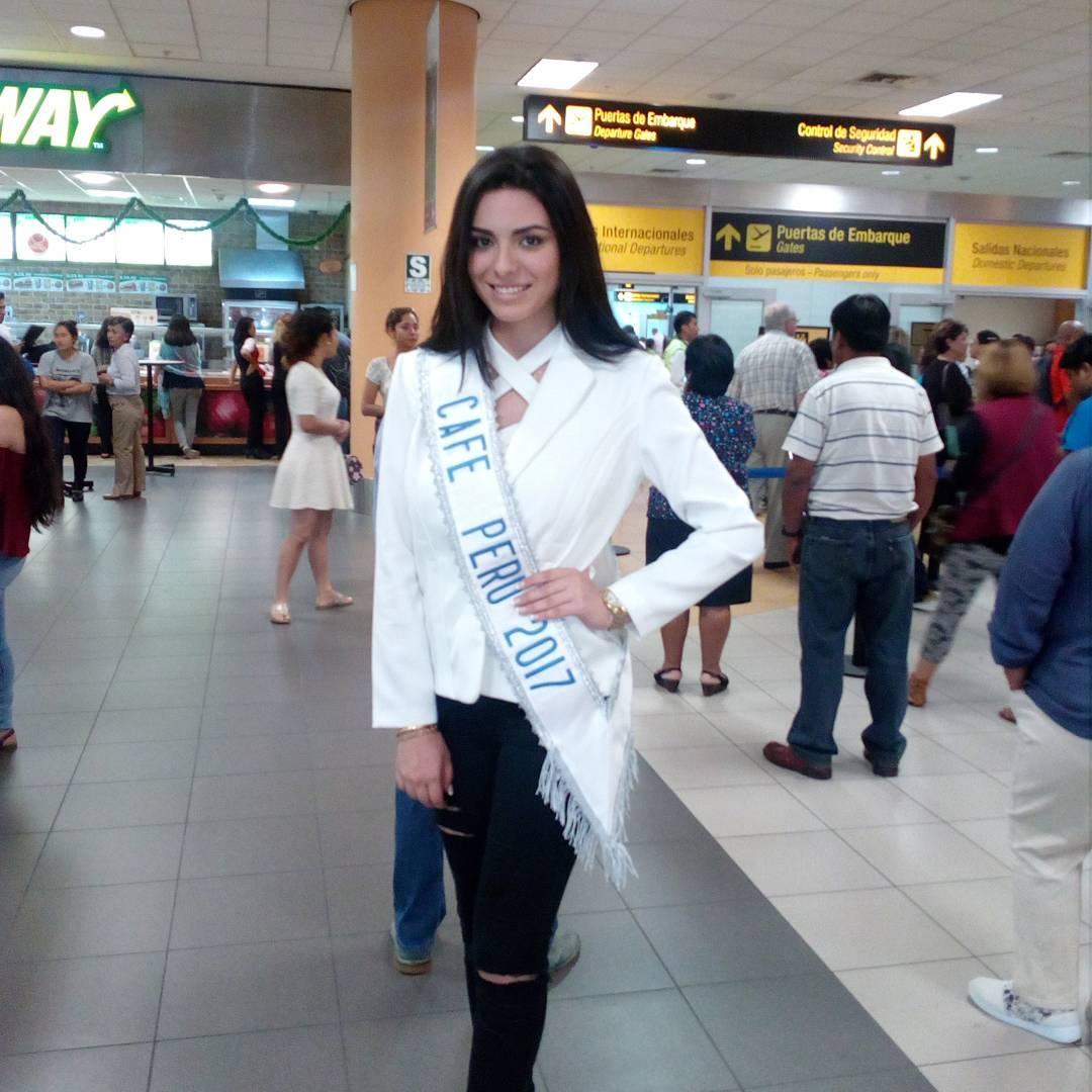 melissa gustavson riboty, miss peru reinado internacional cafe 2017. Ecwa7cmq