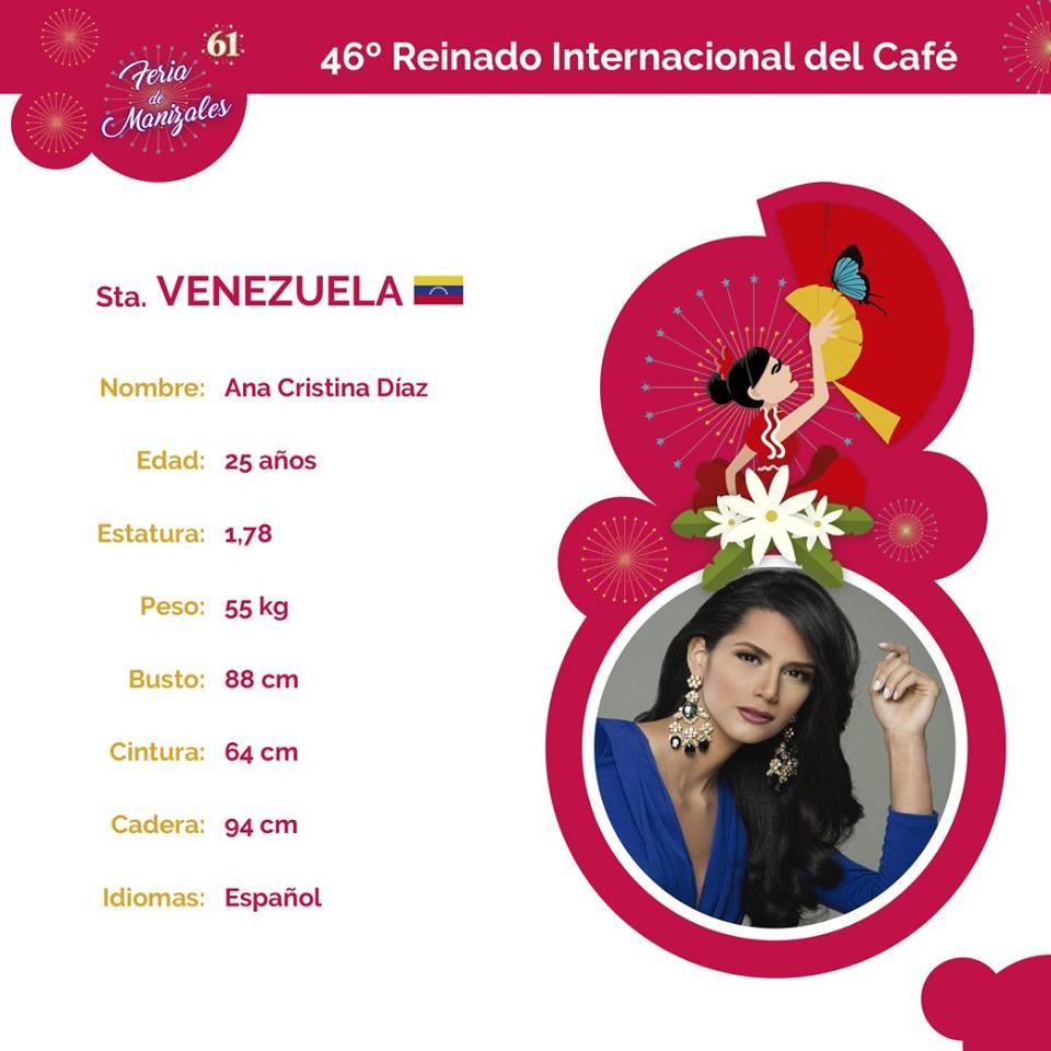 ana cristina diaz, miss venezuela reinado internacional cafe 2017.  - Página 2 9pxascdt