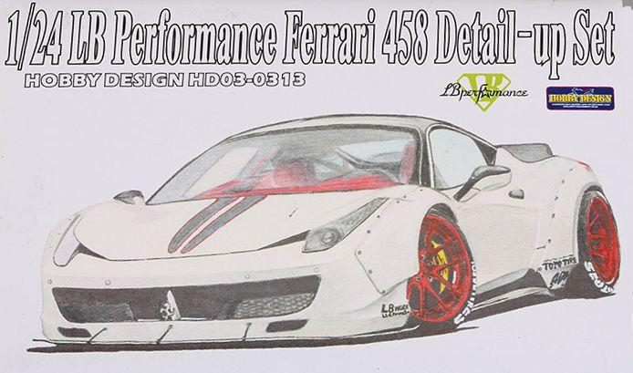"FERRARI 458 ""LIBERTY WALK"" (LB PERFORMANCE) -  1/24 by Fujimi, Hobby Design 9jdvvwep"