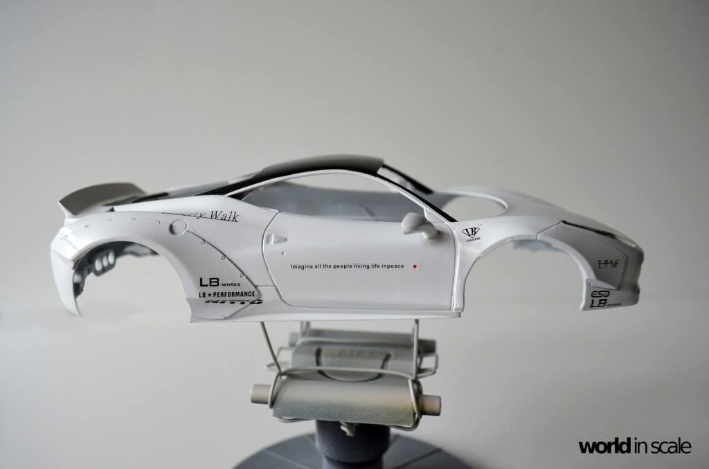 "FERRARI 458 ""LIBERTY WALK"" (LB PERFORMANCE) -  1/24 by Fujimi, Hobby Design Guc2g8m3"