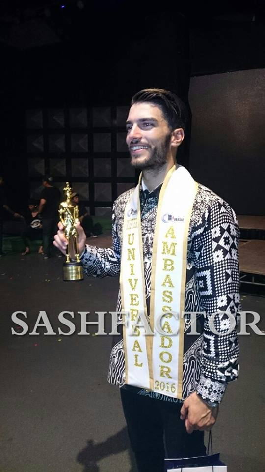 aleksa gavrilovic, mr universal ambassador 2016. Qmwcrj92