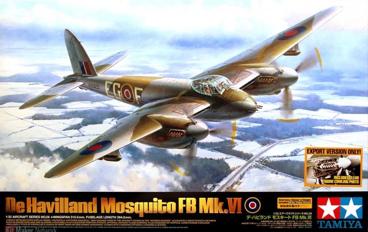 De Havilland Mosquito Fb. Mk VI - 1/32 by Tamiya X3rcq6pg