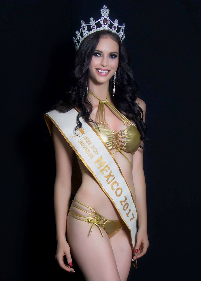 veronica salas, miss intercontinental 2017/top 20 de miss eco international 2017. 69gy4pzl