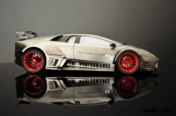 """Lamborghini Murcielago """"Liberty Walk"""" - 1/24 by Fujimi & Eigthyone81 3vfjfmbj"""
