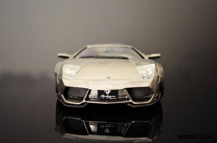 "Lamborghini Murcielago ""Liberty Walk"" - 1/24 by Fujimi & Eigthyone81 44qzufeo"