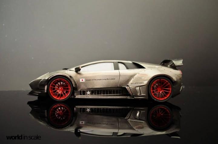 """Lamborghini Murcielago """"Liberty Walk"""" - 1/24 by Fujimi & Eigthyone81 4jgu6qyd"""