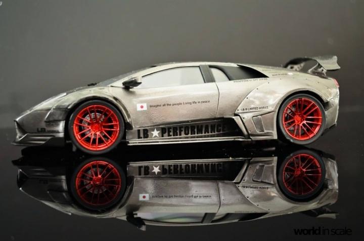 """Lamborghini Murcielago """"Liberty Walk"""" - 1/24 by Fujimi & Eigthyone81 8657brmc"""