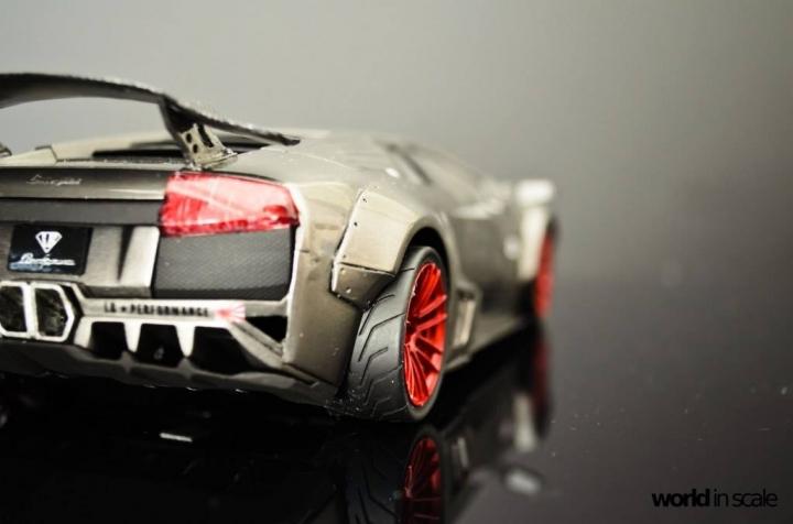 """Lamborghini Murcielago """"Liberty Walk"""" - 1/24 by Fujimi & Eigthyone81 Eenynsrm"""
