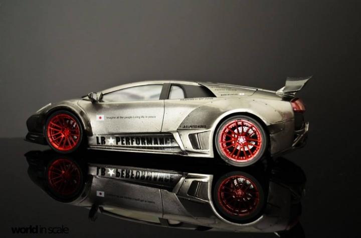 """Lamborghini Murcielago """"Liberty Walk"""" - 1/24 by Fujimi & Eigthyone81 Feqkykss"""