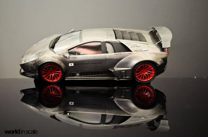 """Lamborghini Murcielago """"Liberty Walk"""" - 1/24 by Fujimi & Eigthyone81 J2pq495y"""