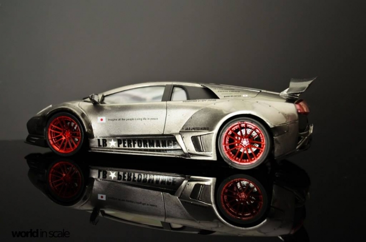 """Lamborghini Murcielago """"Liberty Walk"""" - 1/24 by Fujimi & Eigthyone81 N4uazg8j"""