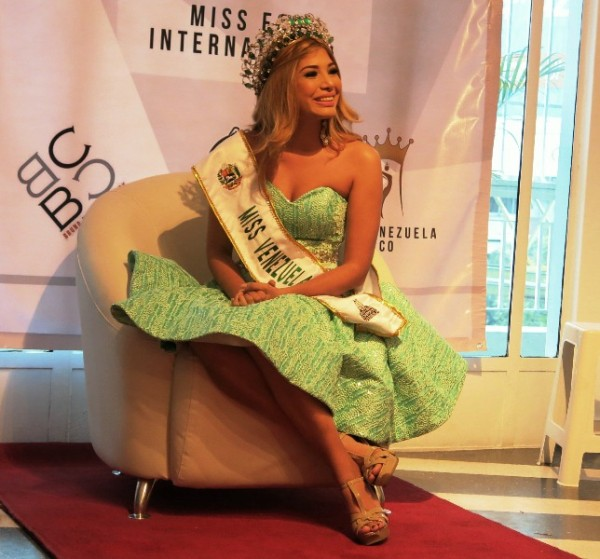 gabriela espana, miss eco venezuela 2017. 2z9yj4mr