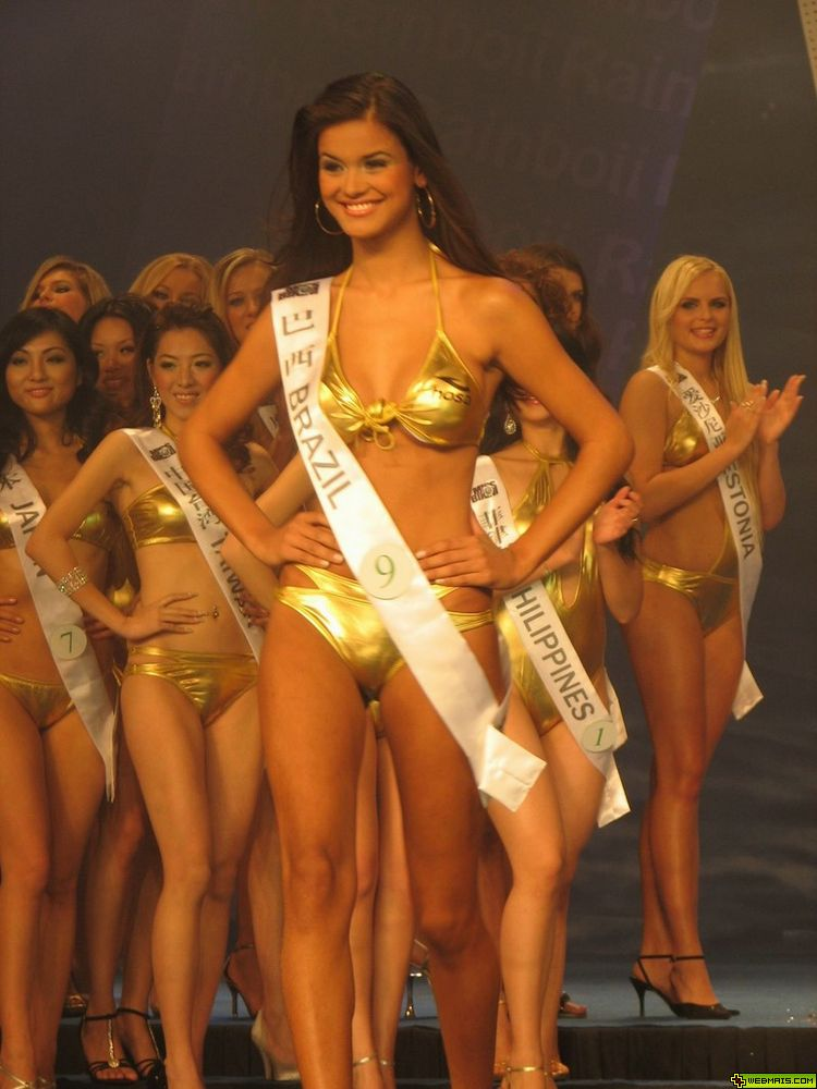 mariana bridi, top 6 de miss bikini international 2007, top 4 de face of the earth 2007. † Dcvya7mm