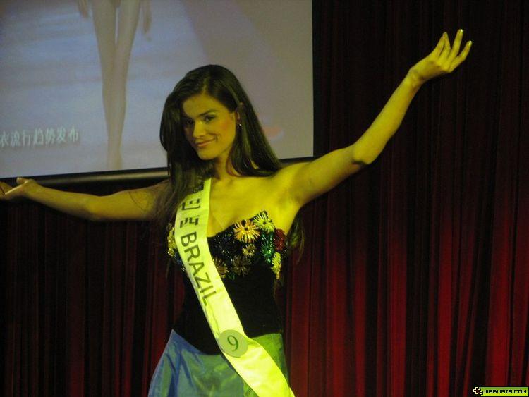 mariana bridi, top 6 de miss bikini international 2007, top 4 de face of the earth 2007. † Vqad9wjp