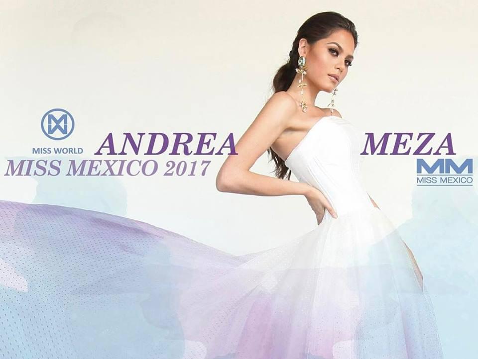andrea meza, mexicana universal 2020/1st runner-up de miss world 2017. - Página 3 7xeh9cgp