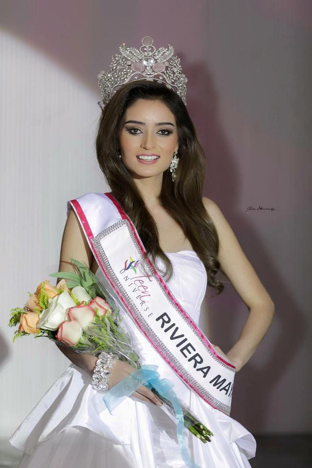 yesenia moreno, miss teen riviera maya universe 2017. 6264jlw9