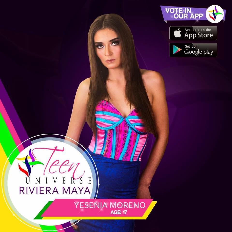 yesenia moreno, miss teen riviera maya universe 2017. 6keulqnw