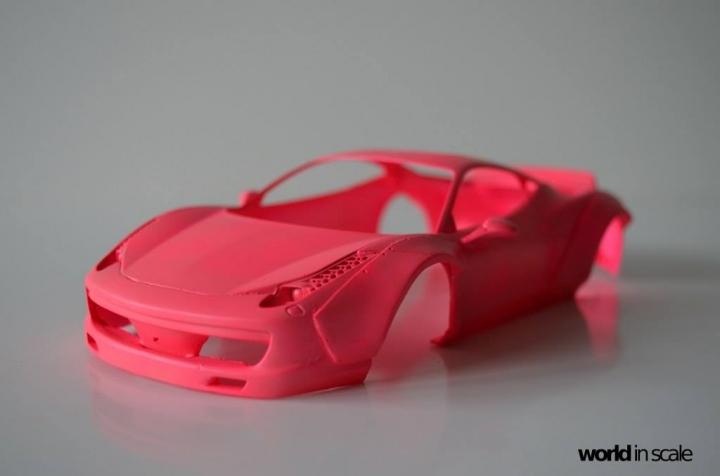 "Ferrari 458 ""Liberty Walk"" 2.0 - 1/24 by Fujimi + Eightyone81 Waqro27w"