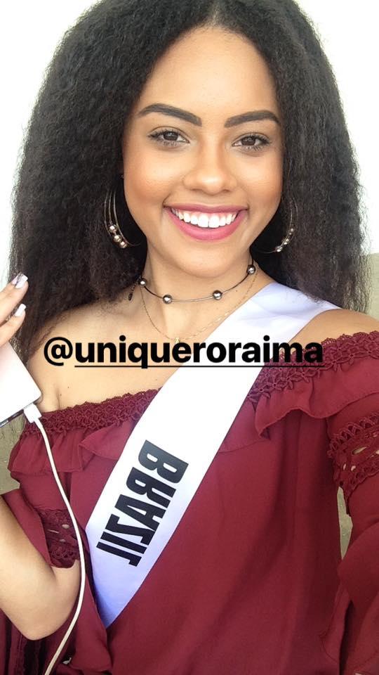 natali vitoria, miss roraima mundo 2020/top 15 de miss brasil universo 2019 /miss brasil teen universe 2017. primeira miss negra a vencer o miss roraima. - Página 6 Timsuq9e