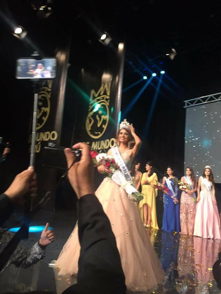 pamela sanchez, candidata a miss peru universo 2019/top 40 de miss world 2017. - Página 2 Buirwyfw