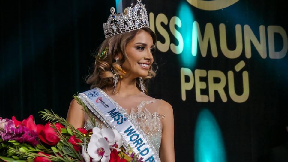 pamela sanchez, candidata a miss peru universo 2019/top 40 de miss world 2017. - Página 2 Gazujdhw