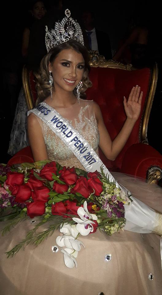 pamela sanchez, candidata a miss peru universo 2019/top 40 de miss world 2017. - Página 2 Lhji4bxk