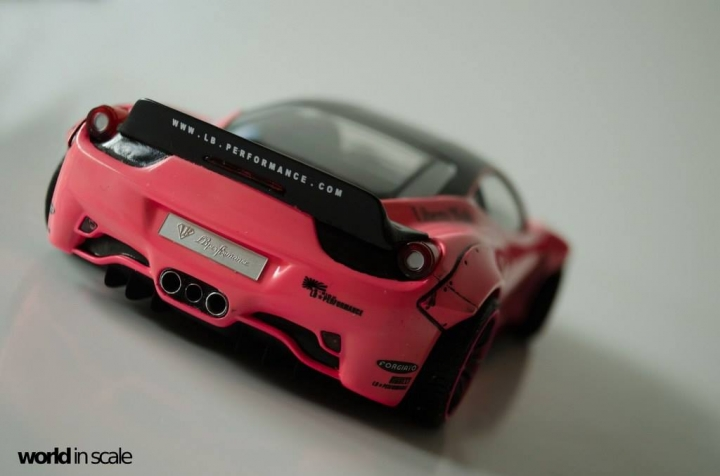 "Ferrrari 458 ""Liberty Walk"" - 1/24 by Fujimi + Eigthyone81 Xaijsizb"