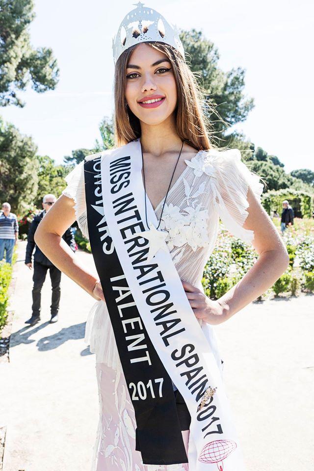elizabeth ledesma laker, miss international spain 2017. Xtj964pm