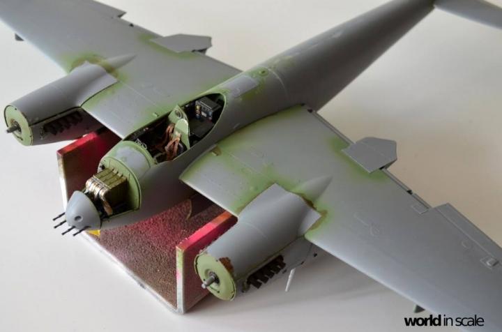 De Havilland Mosquito Fb. Mk VI - 1/32 by Tamiya 65icertp