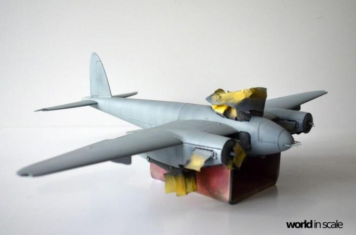 De Havilland Mosquito Fb. Mk VI - 1/32 by Tamiya Mmswcula