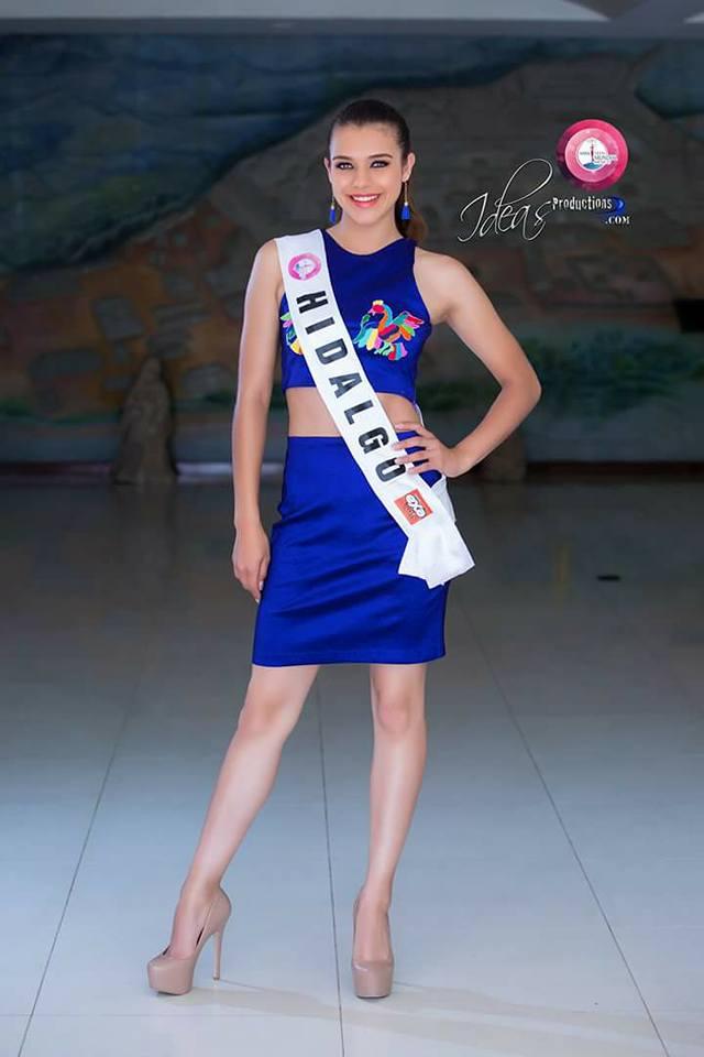 montserrat villalva, miss teen mundial mexico 2017. Viaa2tdm