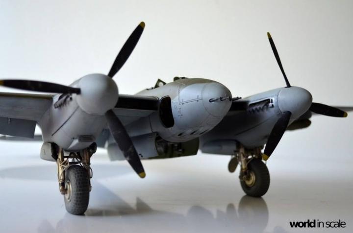De Havilland Mosquito Fb. Mk VI - 1/32 by Tamiya 2zh3ha7z