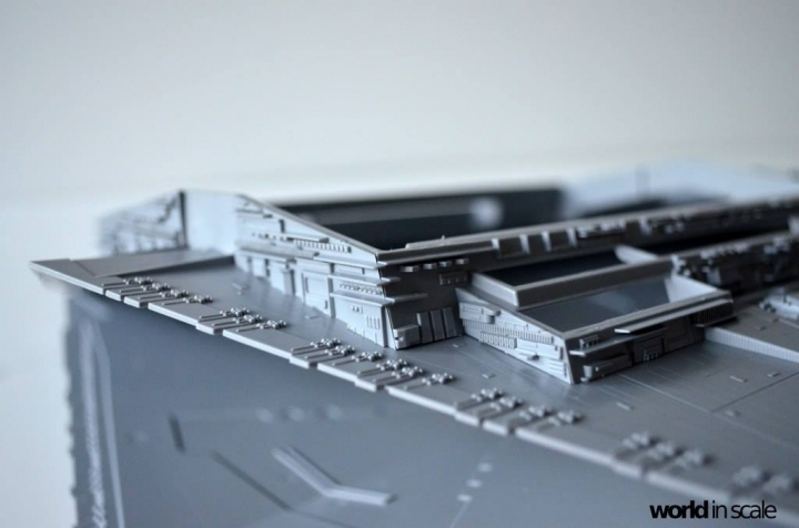 "Star Destroyer ""Imperium I-Class"" - 1/2700 by Revell/Zvezda + Illumination 6txu9tnu"