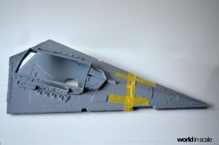 "Star Destroyer ""Imperium I-Class"" - 1/2700 by Revell/Zvezda + Illumination Ruuj8wx5"