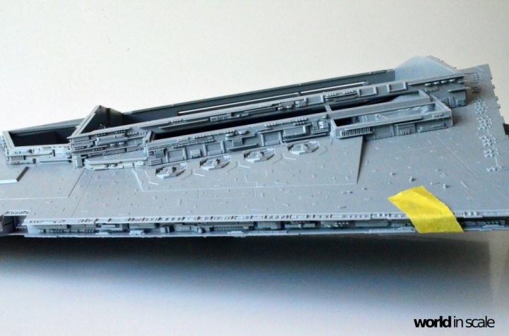 """Star Destroyer """"Imperium I-Class"""" - 1/2700 by Revell/Zvezda + Illumination 6yh88zmq"""