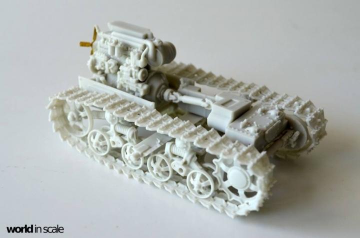 """DT-74 """"Soviet Dozer"""" - 1/35 by Balaton Modell 4hxepkxy"""