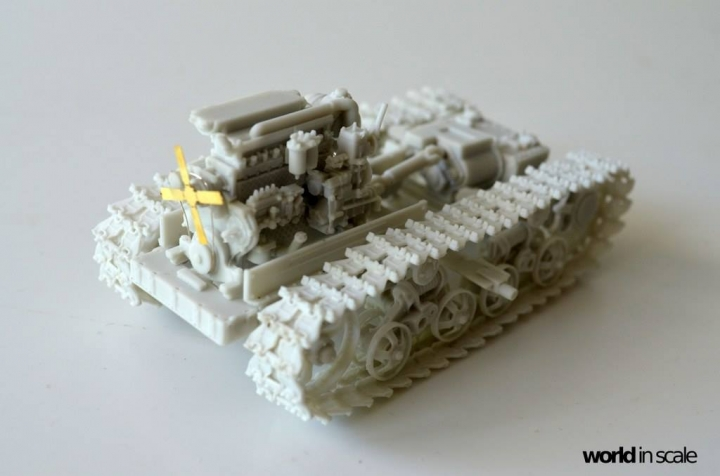 "DT-74 ""Soviet Dozer"" - 1/35 by Balaton Modell Ogdzguee"