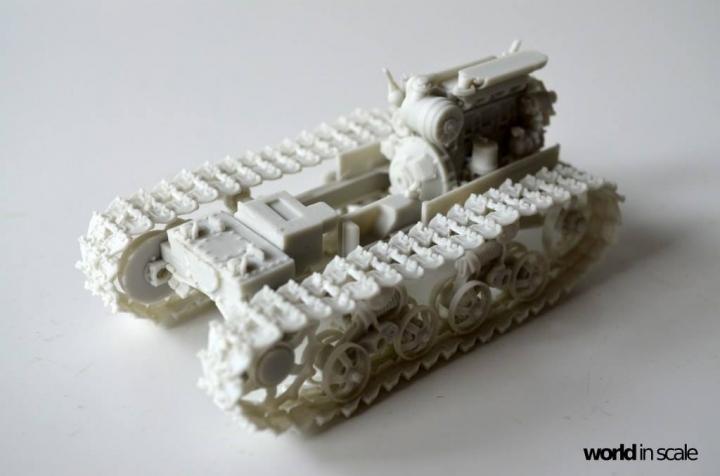 "DT-74 ""Soviet Dozer"" - 1/35 by Balaton Modell Wcbscqba"
