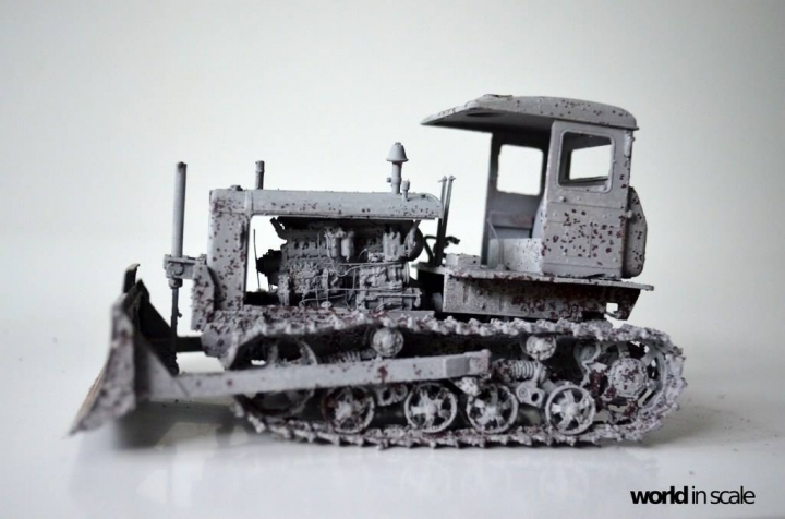 "Caterpillar 12 ""Motor Grader"" - 1/35 by Plus Model 5fc3bnqg"