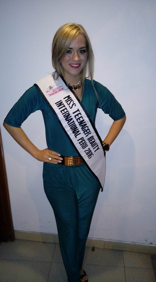 ayrin endres, titulo de miss teenager earth 2017. 257e68mk
