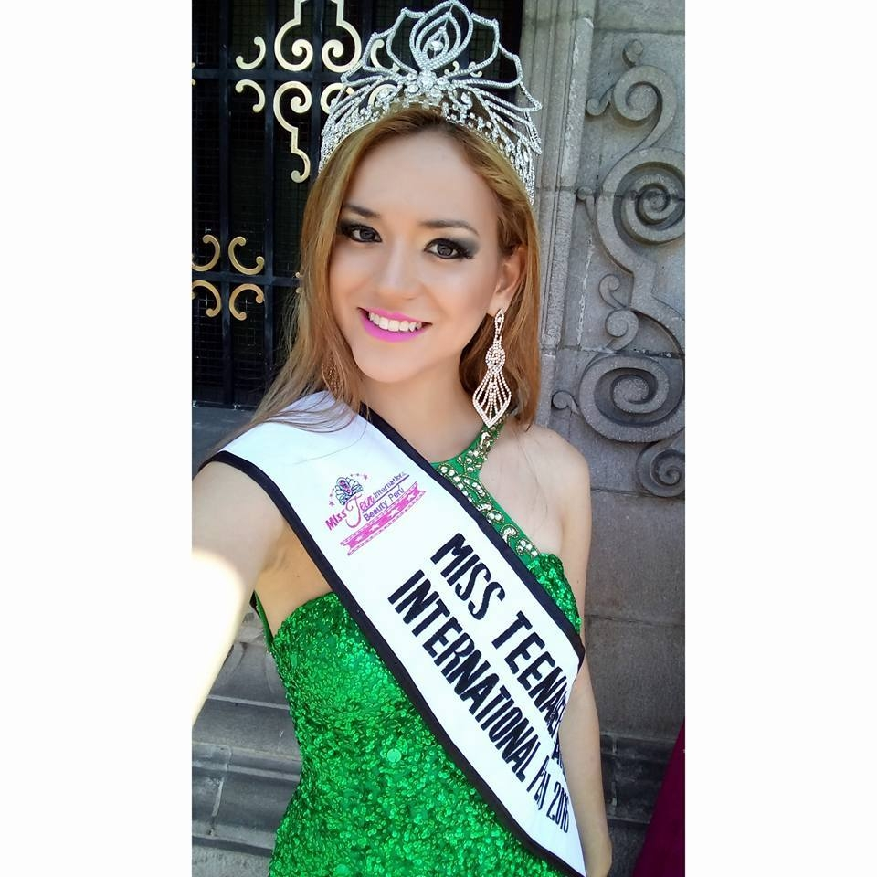 ayrin endres, titulo de miss teenager earth 2017. Louf2db7