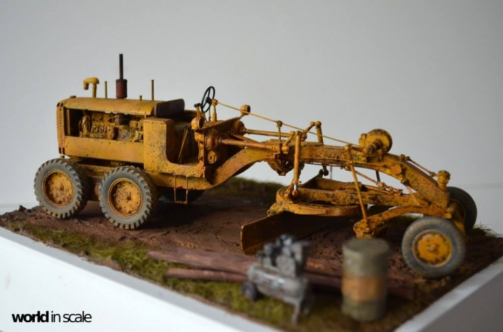 "Caterpillar 12 ""Motor Grader"" - 1/35 by Plus Model As3ppwqa"