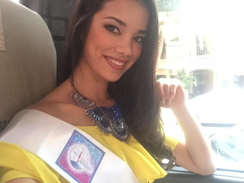 sofia cajo, 1st runner-up de miss teen mundial 2017. - Página 4 6iwv4xht